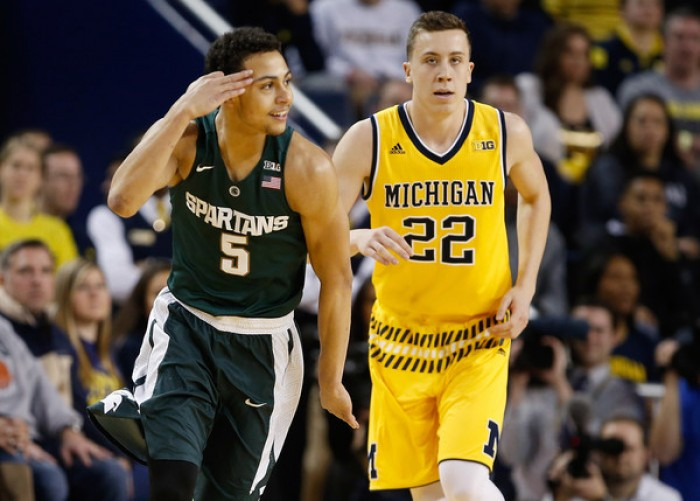 No. 10 Michigan State Spartans Blow Away Michigan Wolverines, 89-73