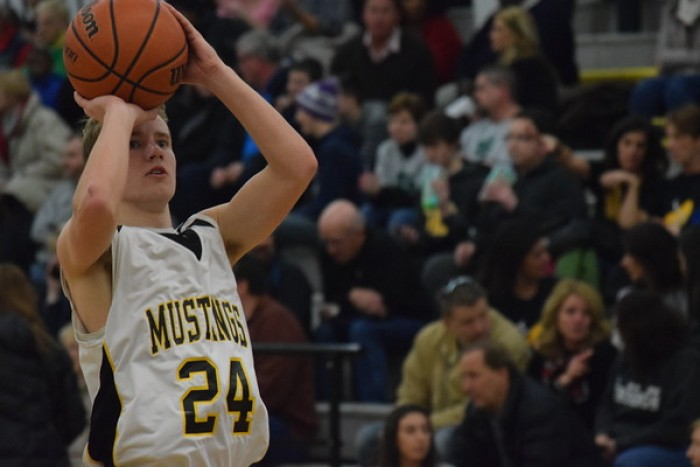 Lutheran North Mustangs Knock Down 10 Three-Pointers In Victory Over Cranbrook-Kingswood Cranes