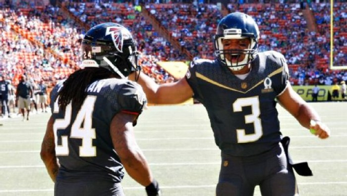 Team Irvin Blows Out Team Rice With Prolific Offense In 2016 Pro Bowl, 49-27