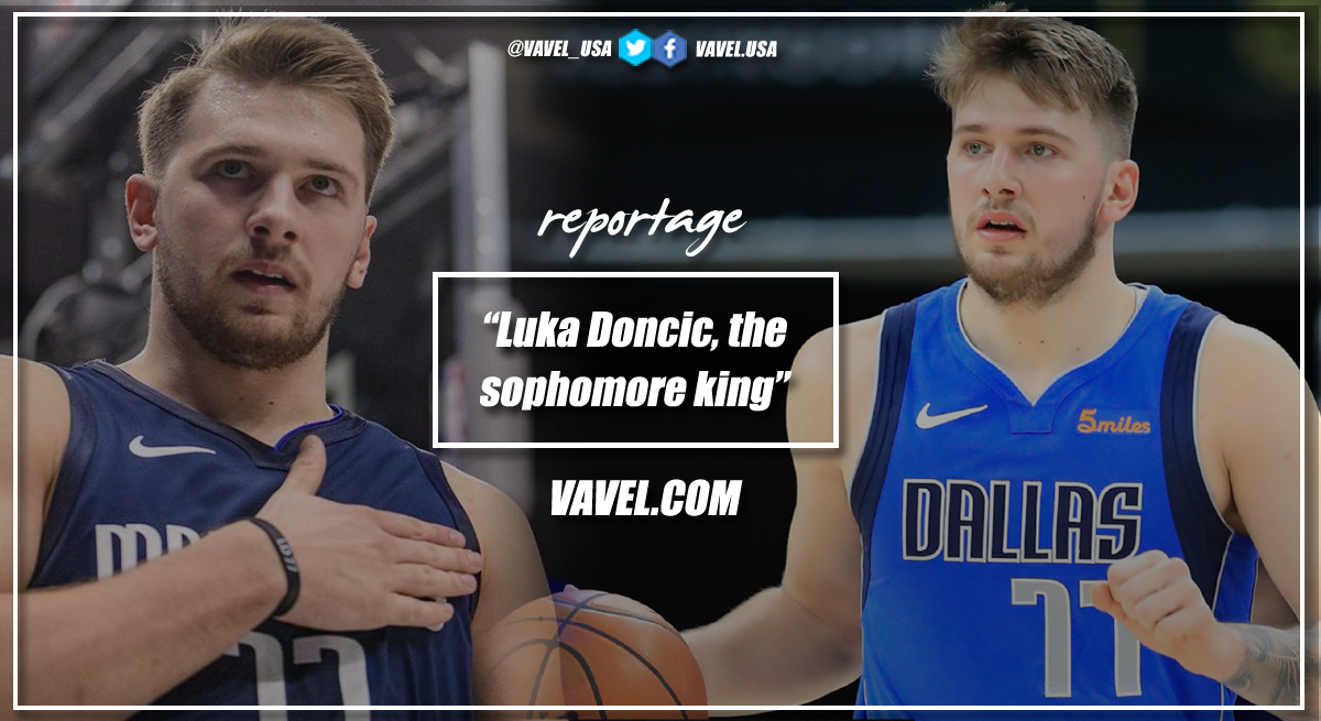 Luka Doncic, the sophomore king