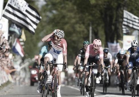 Sublime actuación de Mathieu Van der Poel lo corona en la Amstel Gold Race