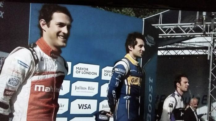 Bruno Senna e Nicolas Prost dividem pódio da Fórmula E em Londres
