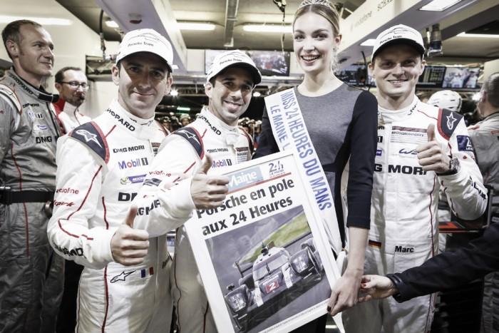 Porsche marca a pole para as 24 horas de Le Mans