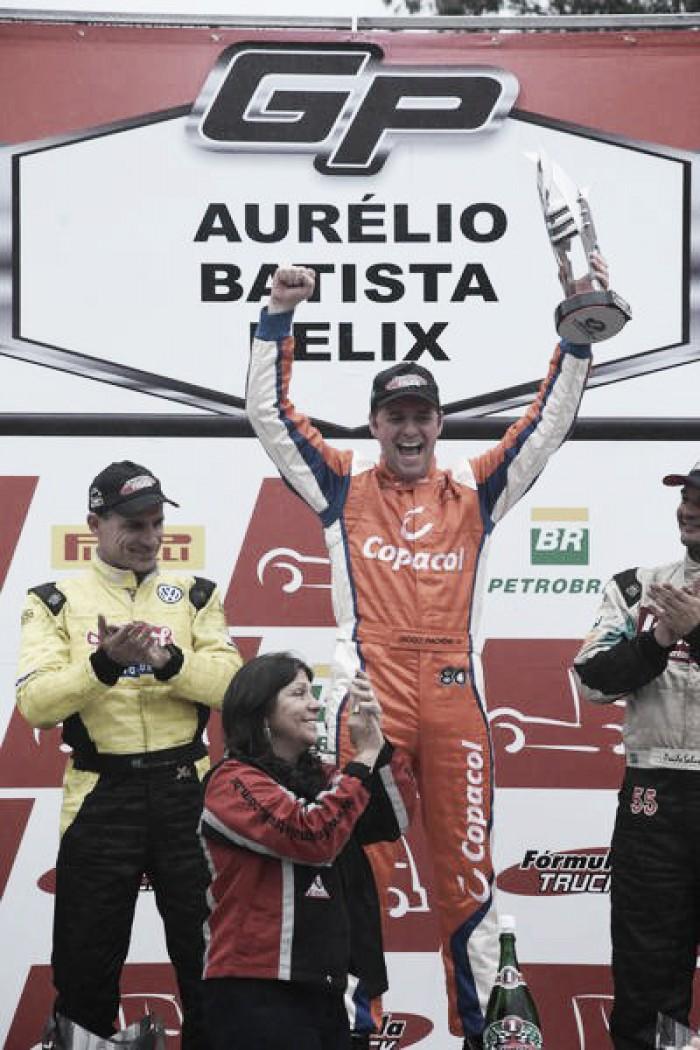 Terceiro no campeonato, Diogo Pachenki espera recuperação em Cascavel pela Fórmula Truck
