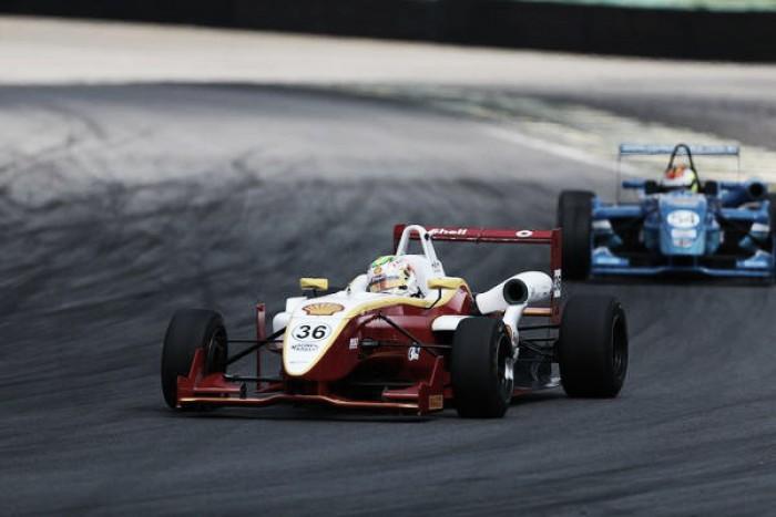 Thiago Vivacqua satisfeito com 4º lugar pela F-3 Brasil em Interlagos