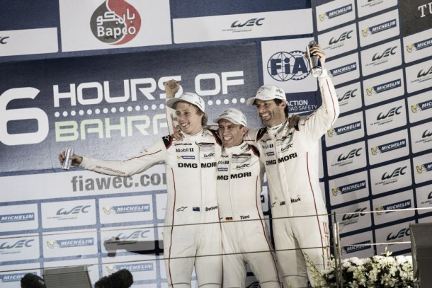 Porsche vence as 6 horas do Bahrain e conquista título de pilotos