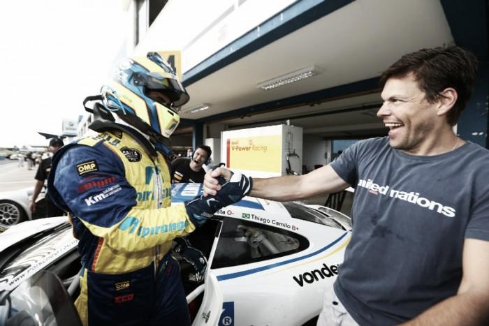 Ricardo Baptista e Thiago Camilo largam na frente pela Porsche GT3 Cup Challenge em Goiânia