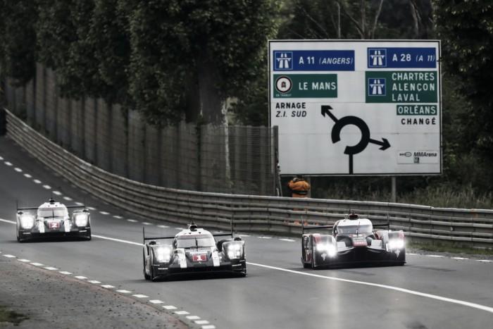 Audi supera Porsche e marca melhor tempo no test day em Le Mans