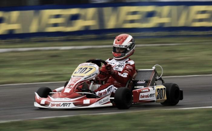 Caio Collet estreia na temporada 2016 do Europeu de Kart CIK-FIA