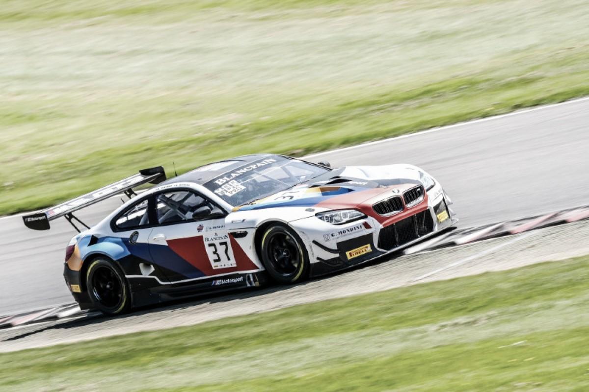 Em Brands Hatch, Lukas Moraes conquista top-10 e vence no Blancpain GT Sprint