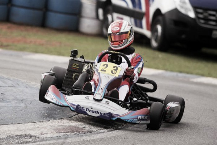 Caio Collet vence Brasileiro Rotax na Jr. Max e garante vaga na final mundial