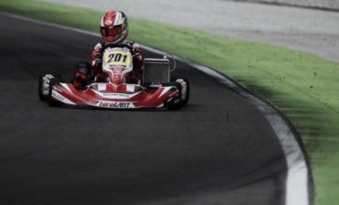 Caio Collet se mantém entre os líderes do Europeu de Kart após etapa de Adria