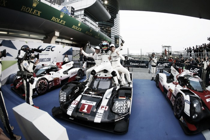 Porsche vence em Xangai e conquista título de contrutores no Mundial de Endurance