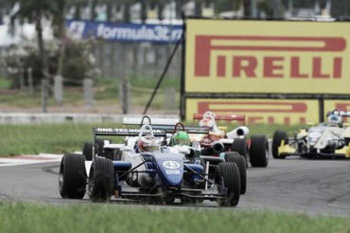 Título da Fórmula 3 Brasil pode ser decidido em Goiânia