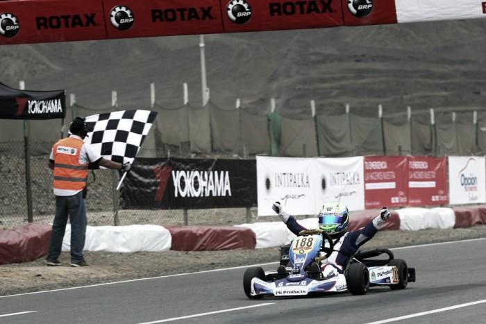 Rafael Câmara é campeão Sul-americano Rotax de Kart no Peru