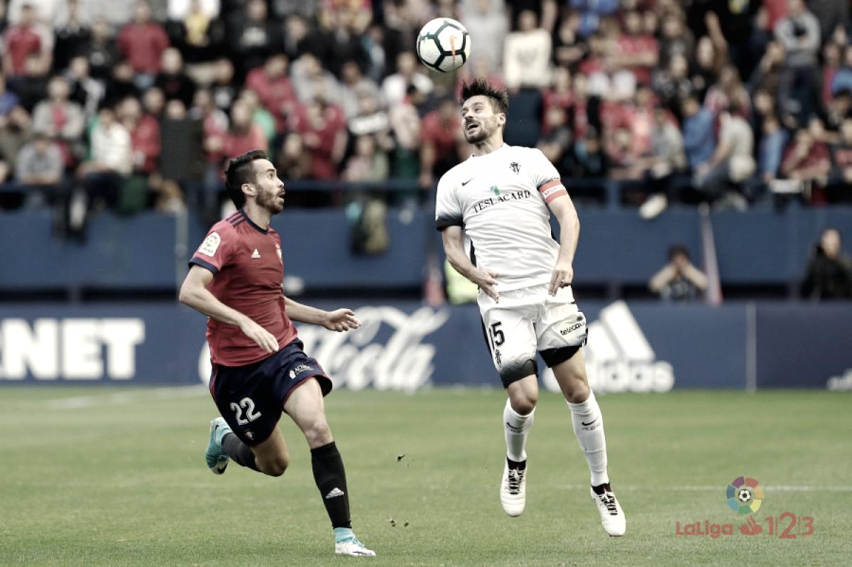 Histórico de resultados entre Sporting y Osasuna