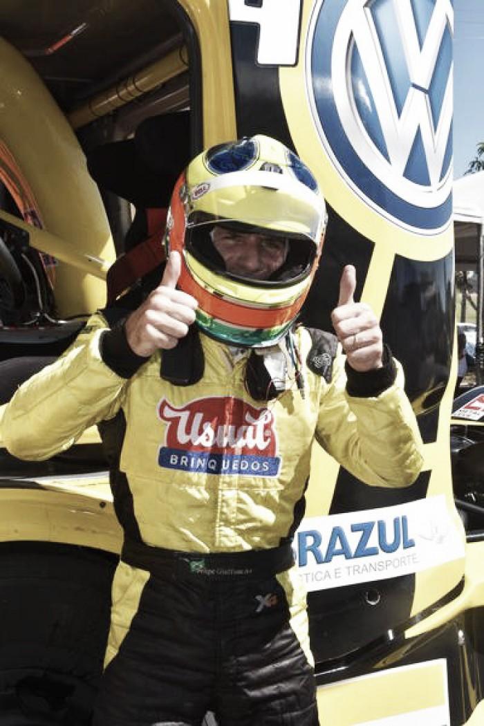 Pela Fórmula Truck, Felipe Giaffone conquista pole em Guaporé
