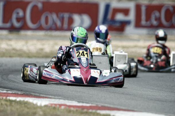 Caio Collet fica em segundo no Campeonato Europeu CIK FIA de Kart