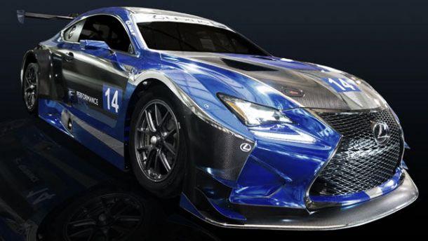 Lexus RC F GT3 começa programa de desenvolvimento nos EUA