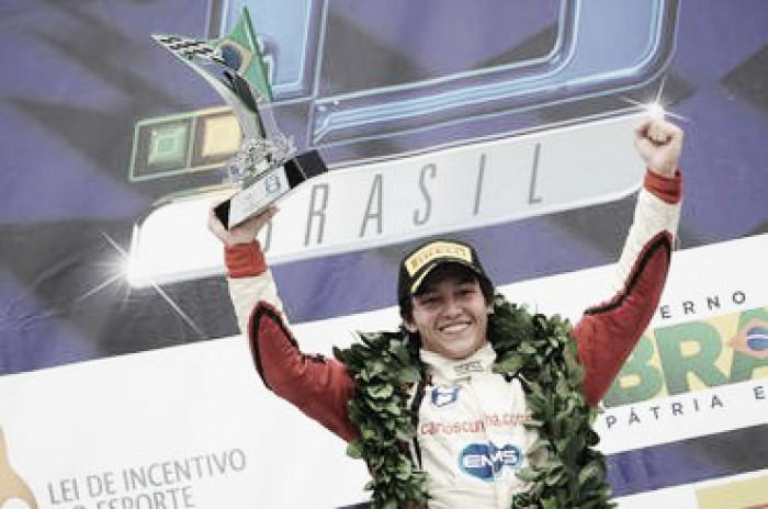 Líder da Fórmula 3 Brasil, Carlos Cunha chega a Santa Cruz querendo ampliar vantagem