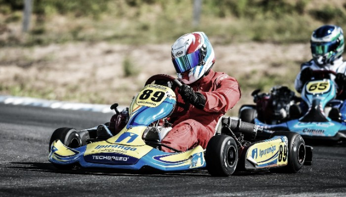 Daniel Barbosa fica na quinta posição do brasileiro de Kart na Paraíba