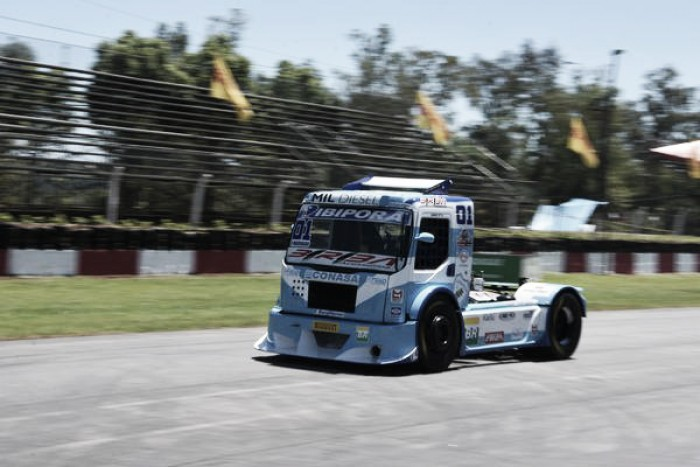 Leandro Totti fecha o dia na frente em Guaporé pela Fórmula Truck