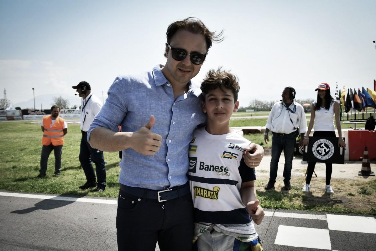Gui Figueiredo avança à final e destaca bom início na 1ª etapa do Europeu de Kart, na Itália