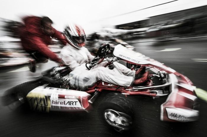 Caio Collet abandona final em Le Mans pelo Europeu de Kart