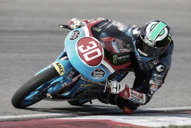 Brasileiro Lucas Torres faz melhor corrida do ano na Pré Moto 3 ao chegar em oitavo lugar em Navarra