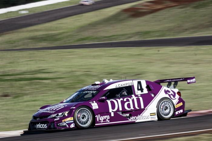 Júlio Campos termina na quarta colocação, nos primeiros treinos pela Stock Car em Cascavel