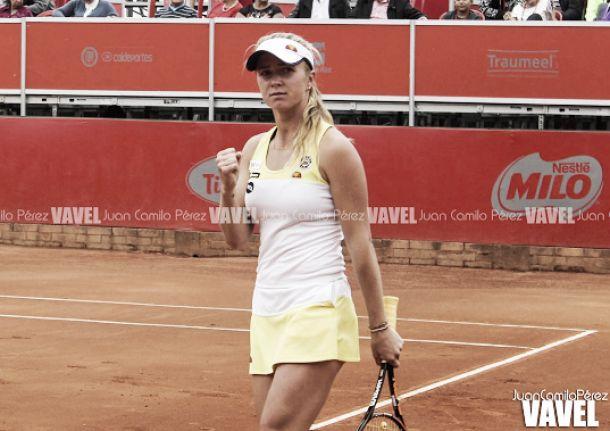 Iniciaron los octavos de final del WTA de Bogotá