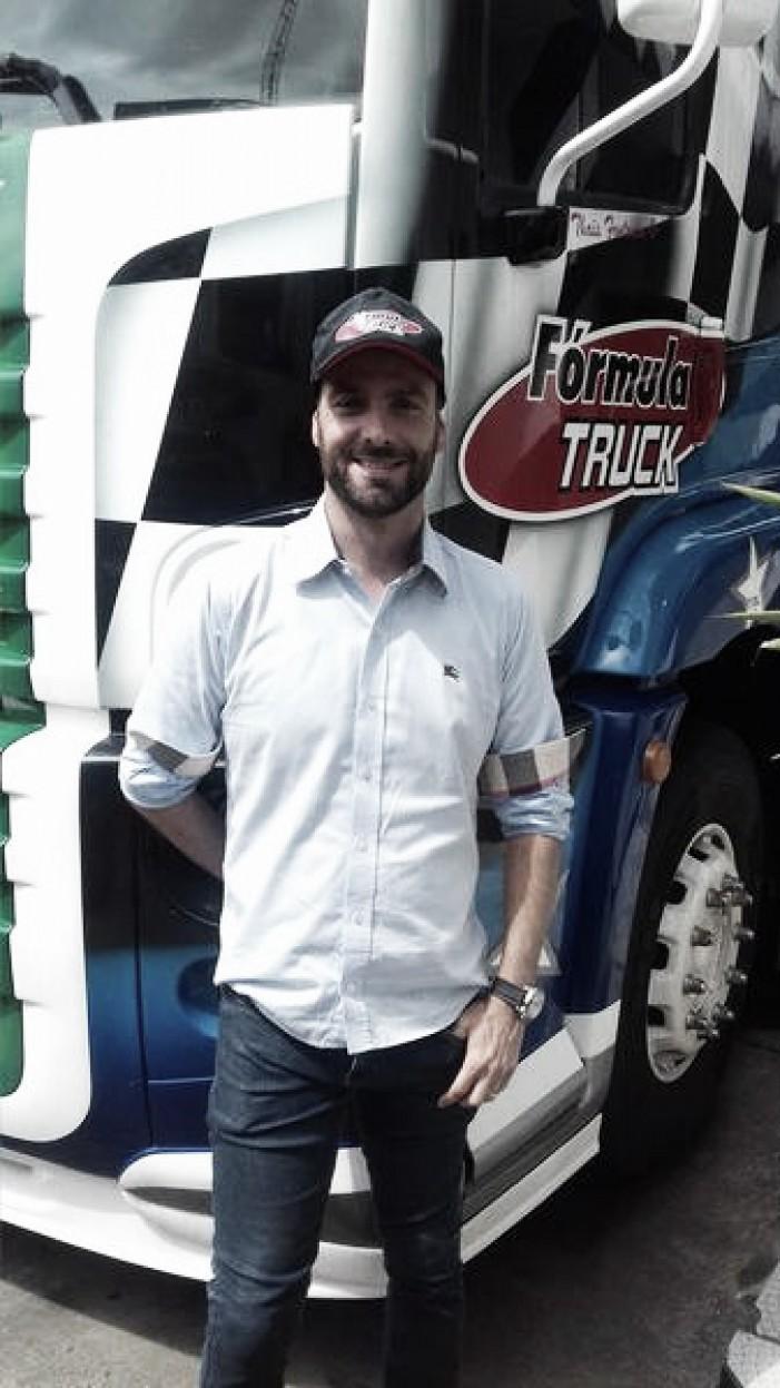 Duda Bana compete pela Fórmula Truck em 2017