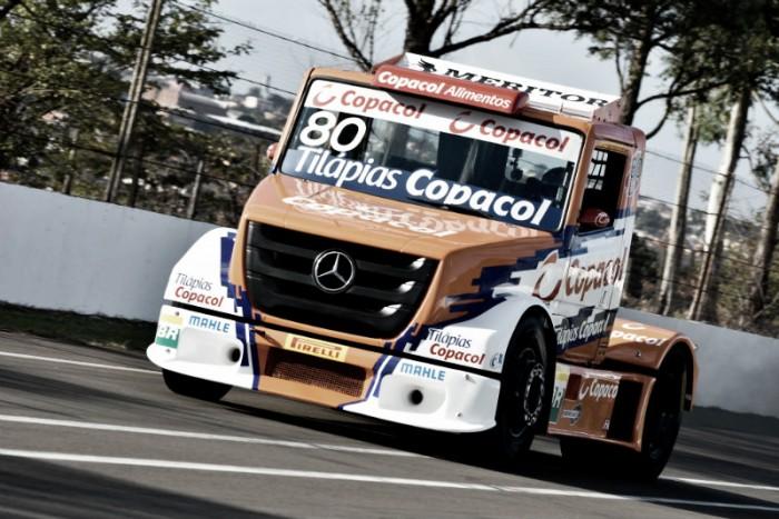 Diogo Pachenki animado com volta de Interlagos para calendário da Fórmula Truck