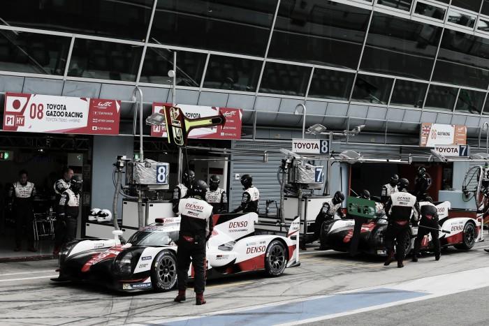 """Toyota """"vence"""" prólogo do Mundial de Endurance em Monza"""