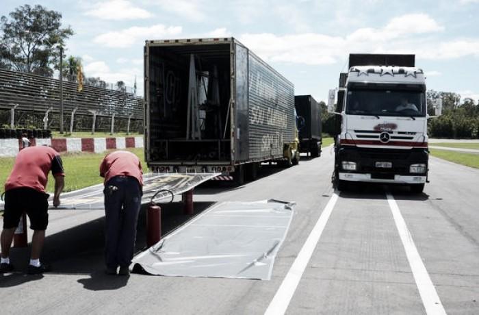 Circo da Fórmula Truck chega em Guaporé