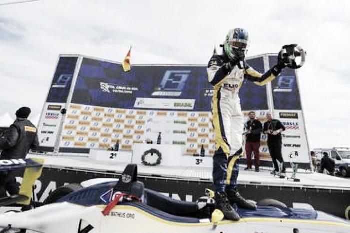 Matheus Iorio vence em Santa Cruz do Sul pela Fórmula 3 Brasil e lidera campeonato