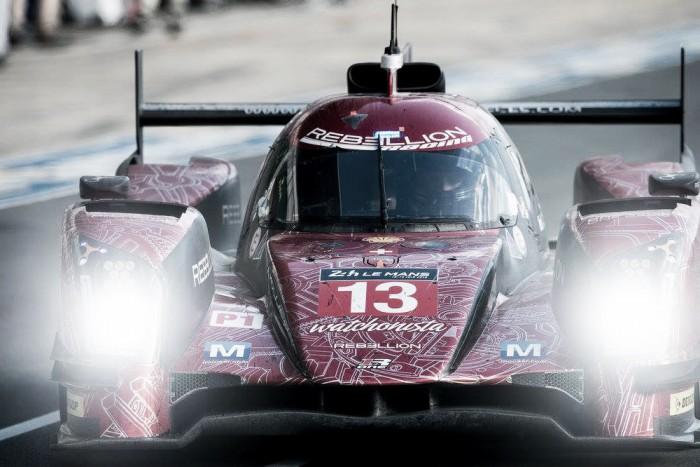 Rebellion Racing com apenas um carro no restante do WEC