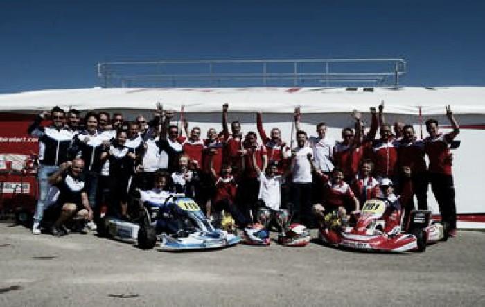 Caio Collet é o vice-líder da Europeu de Kart na Espanha