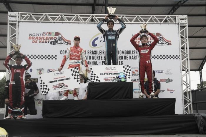 Victor Schoma vence na categoria Junior pelo Norte Brasileiro de Kart