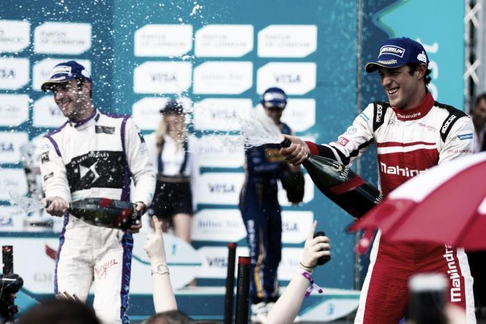 Bruno Senna comemora bom ano na Fórmula E em Londres