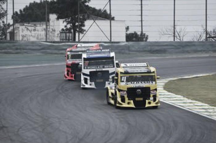 Meta de Felipe Giaffone é manter liderança da Fórmula Truck em Tarumã