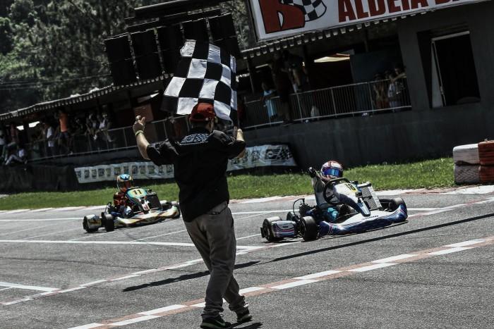 Rafael Câmara vence, e lidera Copa São Paulo Light de Kart