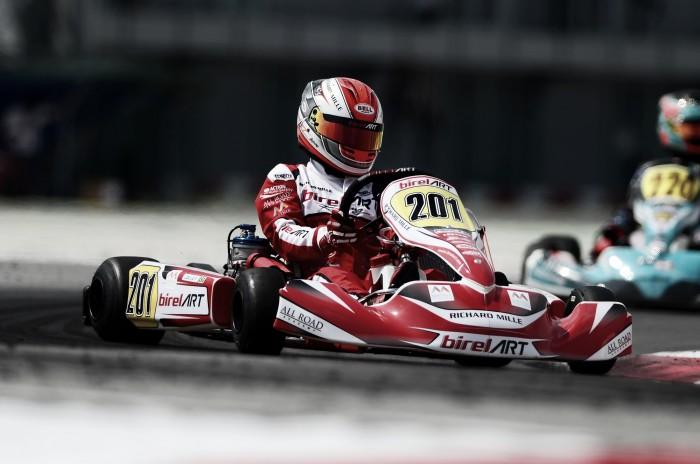 Caio Collet disputa 3ª etapa do Europeu de kart em Portugal