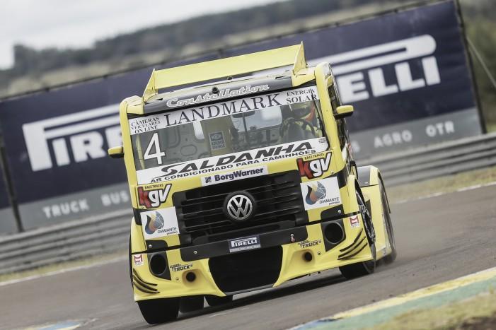 Felipe Giaffone lideria primeiro treino pela Copa Truck em Campo Grande