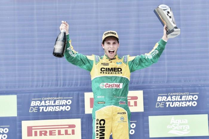 Pietro Rimbano vence corrida 1 pelo Brasileiro de Marcas em Goiânia