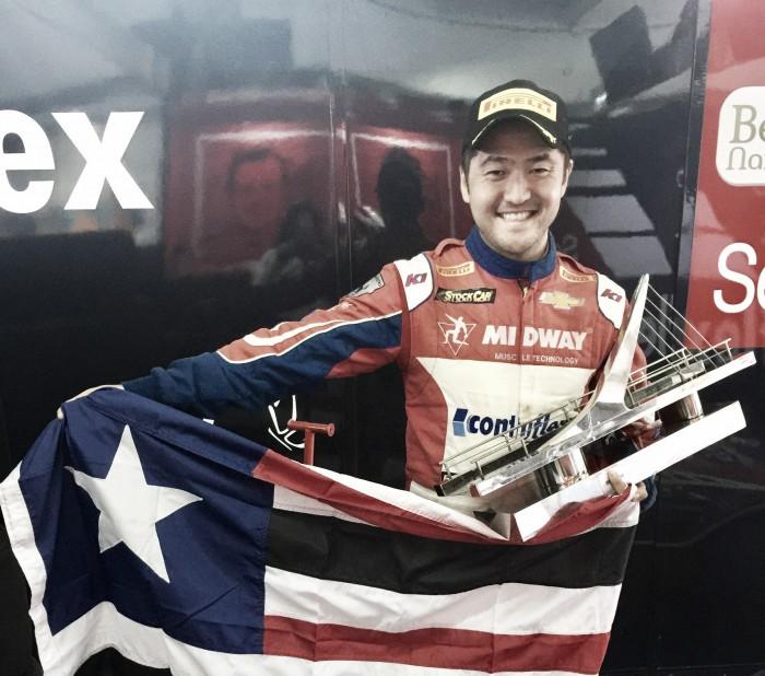 Rafael Suzuki conquista primeiro pódio na Stock Car