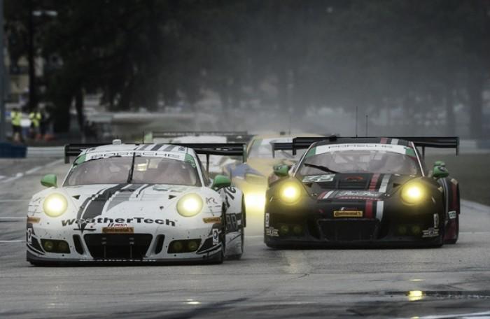 BoP desfavorável tira equipes Porsche da classe GTD para etapa de Virgina da IMSA