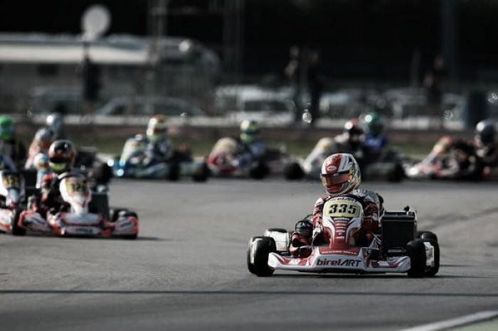 Caio Collet faz corrida de extremos em Adria pelo Mundial de Kart