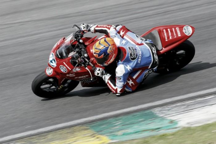 José Duarte marca melhor tempo nos treinos da Copa Honda CBR 500R do SuperBike Brasil