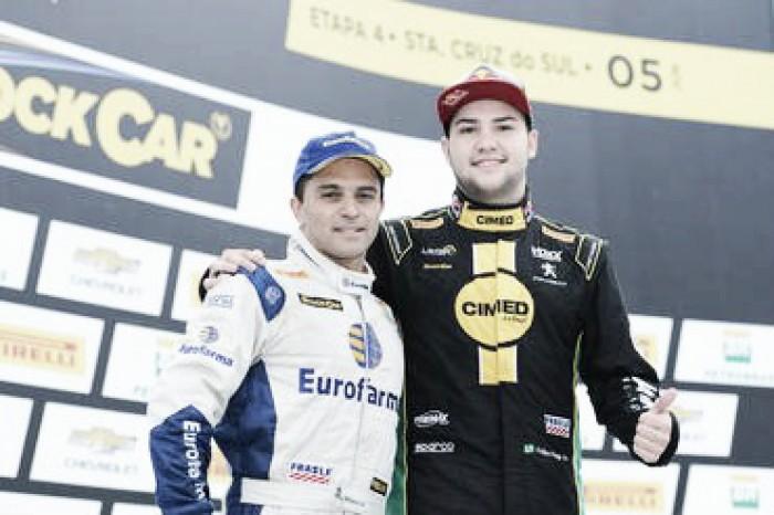 Felipe Fraga e Max Wilson vencem rodada dupla da Stock Car em Santa Cruz do Sul